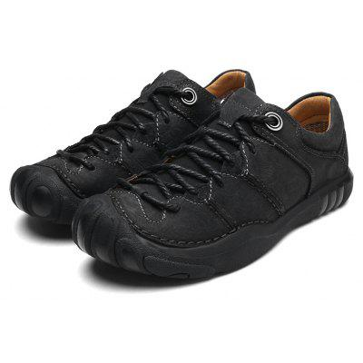 Large Size New First Layer of Leather Handmade Outdoor Casual Shoes