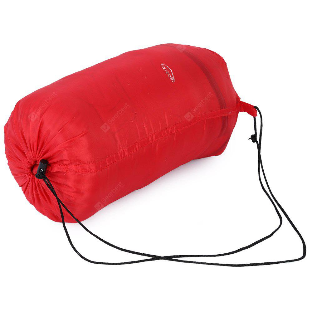 FAMIROSA Outdoor Camping Travel Envelope Sleeping Bag