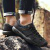 Large Size New First Layer of Leather Handmade Outdoor Casual Shoes - BLACK