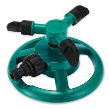 Automatic Garden Water Sprinkler with 360 Degree Spray Head