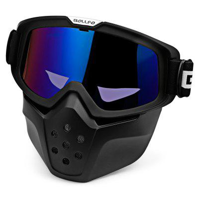 BOLLFO BF656 Motorcycle Mask Goggles for Motocross RidingMotorcycle Goggles &amp; Sunglasses<br>BOLLFO BF656 Motorcycle Mask Goggles for Motocross Riding<br><br>Gender: Unisex<br>Package Contents: 1 x Motorcycle Goggles<br>Package Size(L x W x H): 25.00 x 22.00 x 7.50 cm / 9.84 x 8.66 x 2.95 inches<br>Package weight: 0.2290 kg<br>Product weight: 0.1980 kg