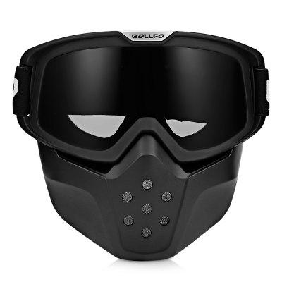 BOLLFO BF656 Motorcycle Mask Goggles for Motocross Riding
