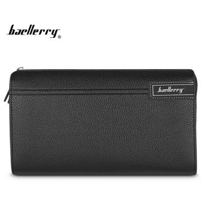 Baellerry Men Wallet Münzfach lange Reißverschluss Business Clutch