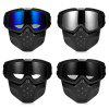 BOLLFO BF656 Motorcycle Mask Goggles for Motocross Riding - GRAY