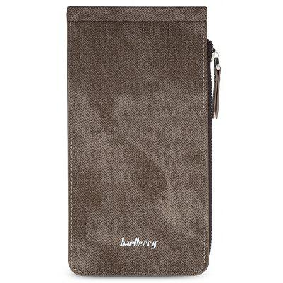 Baellerry PU Leather Long Women Wallet Money Card HolderWallets<br>Baellerry PU Leather Long Women Wallet Money Card Holder<br><br>Closure Type: Zipper&amp;Hasp<br>Color: Cerulean, Brown, Red, Pink, Light Purple, Black<br>Gender: For Women<br>Hardness: Soft<br>Height: 1.5cm<br>Interior: Interior Compartment, Cell Phone Pocket, Interior Zipper Pocket<br>Length(CM): 19.5cm<br>Main Material: PU Leather<br>Package Contents: 1 x Long Wallet<br>Package size (L x W x H): 20.00 x 11.00 x 2.00 cm / 7.87 x 4.33 x 0.79 inches<br>Package weight: 0.1180 kg<br>Pattern Type: Solid<br>Product size (L x W x H): 19.50 x 10.50 x 1.50 cm / 7.68 x 4.13 x 0.59 inches<br>Product weight: 0.1130 kg<br>Style: Fashion<br>Wallets Type: Card Wallets<br>Width: 10.5cm