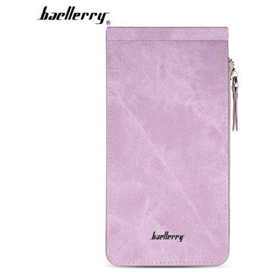 Baellerry PU Leather Long Women Wallet Money Card Holder