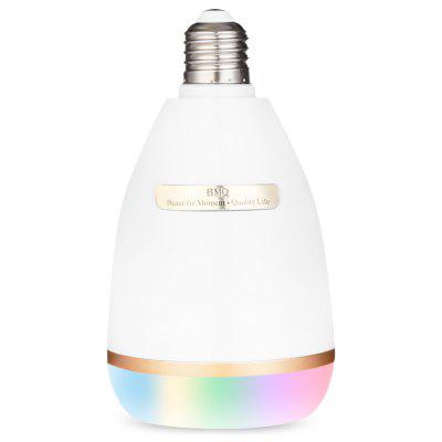 BMQ QB - 302 Multicolor Bluetooth Light Bulb Music Speaker