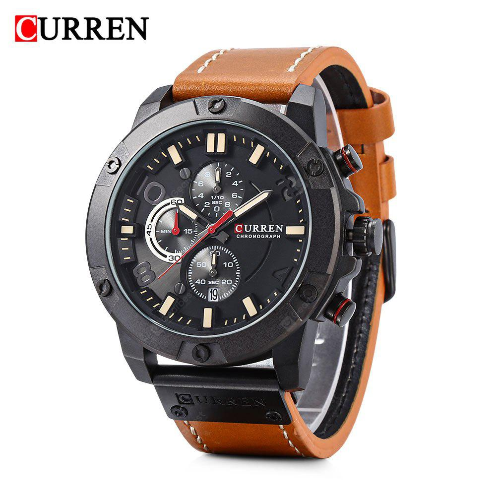 Curren 8285 Six-pin Water-resistance Sports Quartz Watch