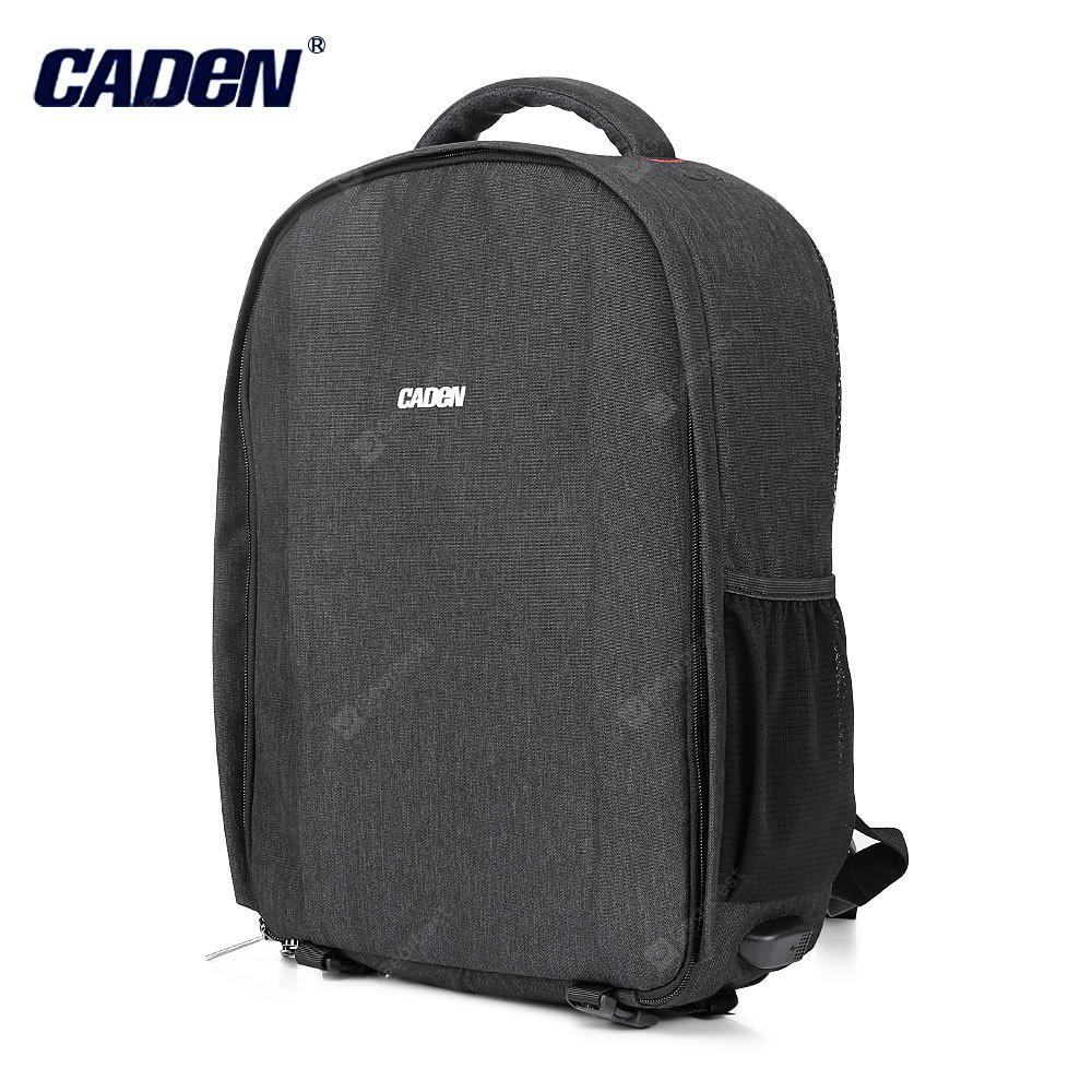 6342e2e795bbfb Caden D10 Water Resistant Camera Backpack Travel Daypack ...