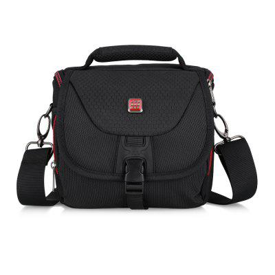 PROWELL DC21754B Water Resistant Camera Shoulder BagCamera Bags<br>PROWELL DC21754B Water Resistant Camera Shoulder Bag<br><br>Colour: Black Color<br>Material: Nylon<br>Package Contents: 1 x Bag, 1 x Strip<br>Package Size(L x W x H): 18.50 x 16.50 x 19.00 cm / 7.28 x 6.5 x 7.48 inches<br>Package weight: 0.6300 kg<br>Product weight: 0.6200 kg<br>Type: Hard Bag