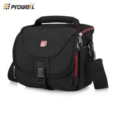 PROWELL DC21754B Water Resistant Camera Shoulder Bag