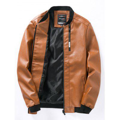 Young Slim Leather Jacket
