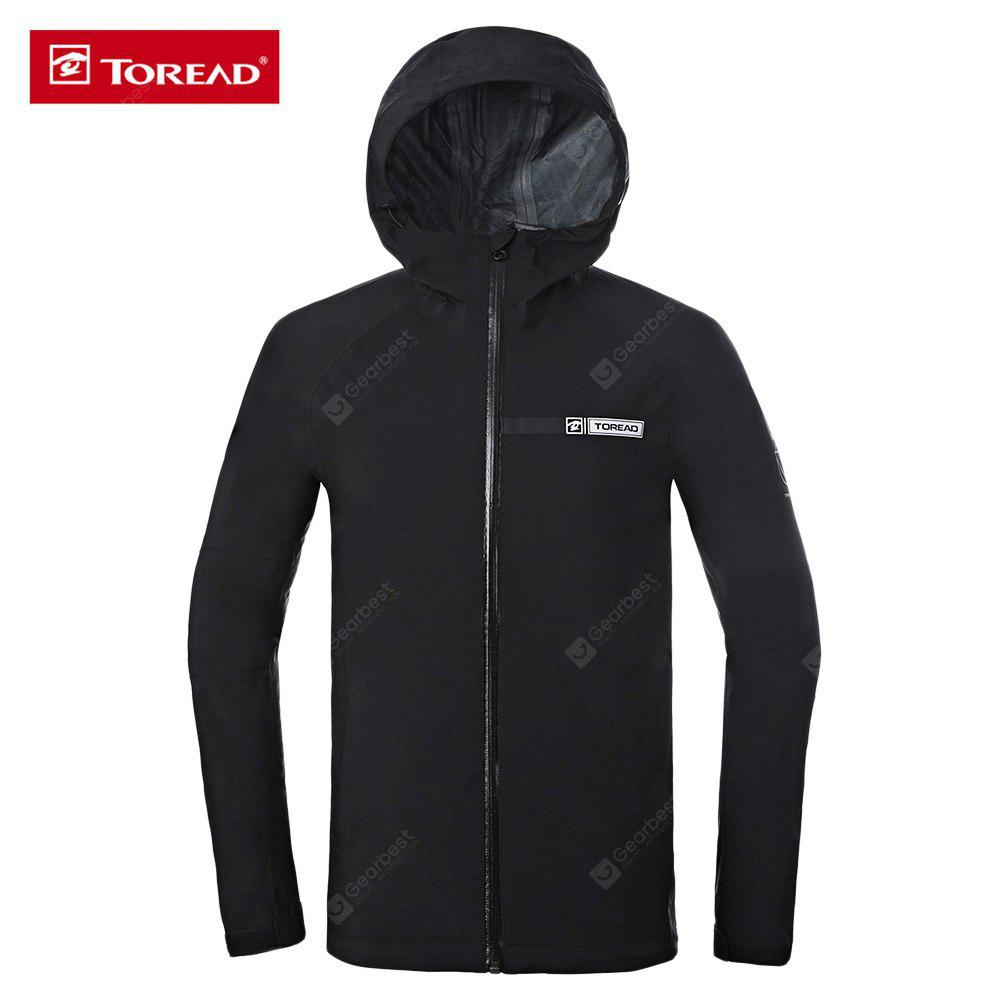 TOREAD Hooded Long Sleeve Waterproof Men Outdoor Jacket