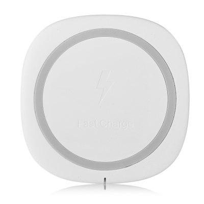 ME105P Qi Fast Wireless Charger for iPhone 8 / X / Samsung S8 universal qi wireless charger for cellphone black