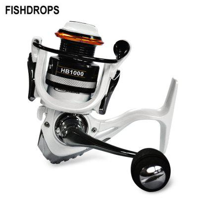 FISHDROPS 12+1BB Lightweight Fishing Tackle Spinning Reel