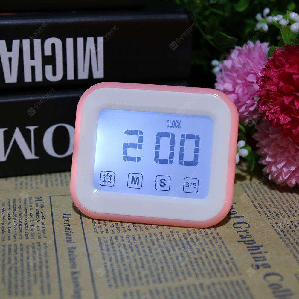 Touch Screen Kitchen Timer Alarm Clock magnetico