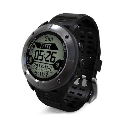 UW80C Male Sports Digital Watch Heart Rate Monitor SOS GPS Image