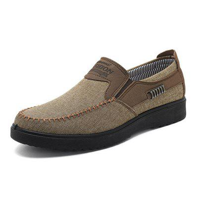 Neat Stitching Non-slip Casual Cloth Shoes for MenFlats &amp; Loafers<br>Neat Stitching Non-slip Casual Cloth Shoes for Men<br>