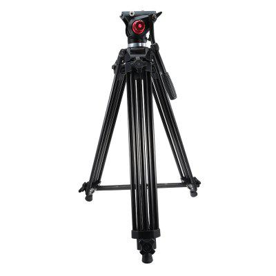 Professional Video Camcorder Tripod with Fluid Drag Head