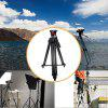 Professional Video Camcorder Tripod with Fluid Drag Head - BLACK