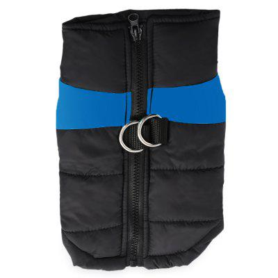Comfortable Pet Dog Quilted Sport Clothing Warm Vest Jacket