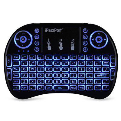 iPazzPort I8 2.4GHz Wireless QWERTY Keyboard with Touchpad Mouse