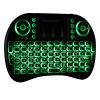 iPazzPort I8 2.4GHz Wireless QWERTY Keyboard with Touchpad Mouse - BLACK
