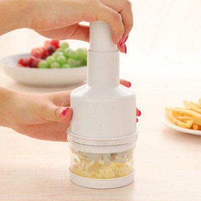 Manual Pressing Ingredient Chopper Onion Garlic Cutter