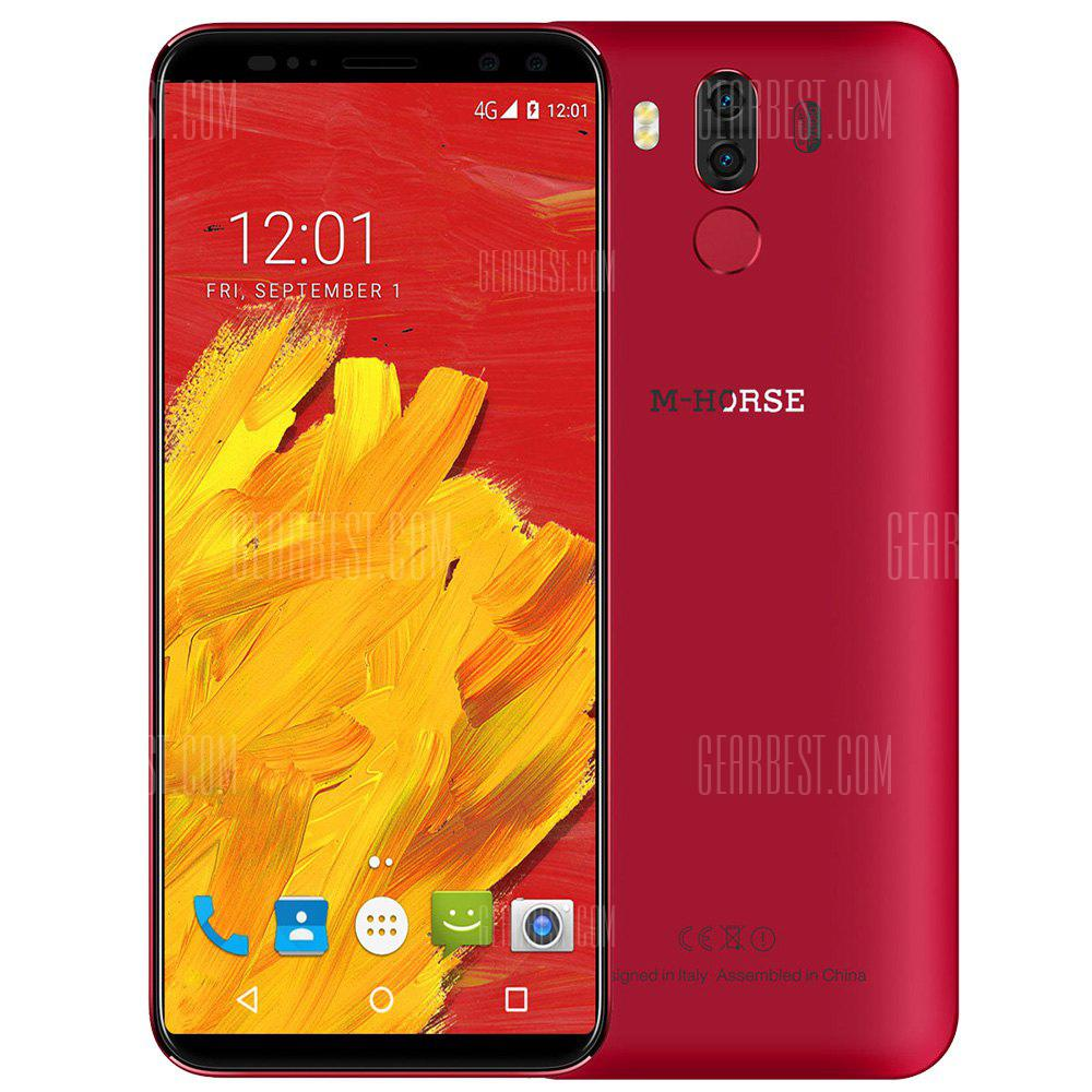 M-HORSE Pure 3 4G Phablet 5.7 inch Android 7.1 MTK6763