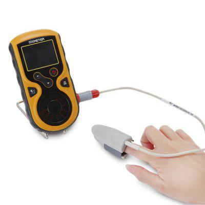Heal Force Prince - 100F Color LCD Handheld Pulse OximeterMonitoring &amp; Testing<br>Heal Force Prince - 100F Color LCD Handheld Pulse Oximeter<br><br>Item Type: Oximeter<br>Measurement range: SpO2 Measuring Range: 35 - 100 percent, PR Measuring Range: 30 - 240BPM, PI Measuring Range: 0.2 - 20 percent<br>Package Content: 1 x Handheld Pulse Oximeter, 1 x SpO2 Probe, 1 x Data Cable, 1 x Bracket, 1 x English Manual<br>Package Size ( L x W x H ): 22.00 x 16.00 x 7.00 cm / 8.66 x 6.3 x 2.76 inches<br>Package weight: 0.5400 kg<br>Power (W): Less than 0.002<br>Product weight: 0.3350 kg<br>Voltage (V): DC 4.5 or DC 3.6