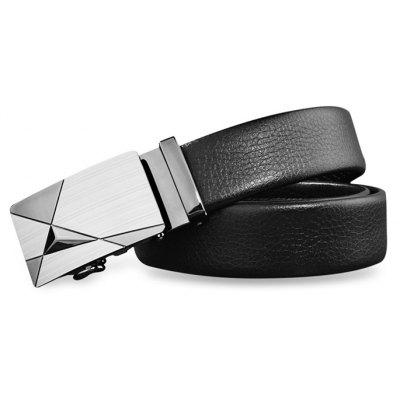 ZHAXIN Men Luxury Leather Automatic Buckle Belts