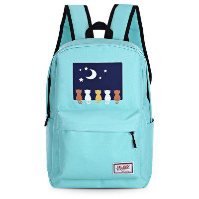 7pcs Cartoon Printing Backpack Women Zipper School Bags dinosaur anti lost backpack for kids children backpack aminals kindergarten school bags for 1 4 years