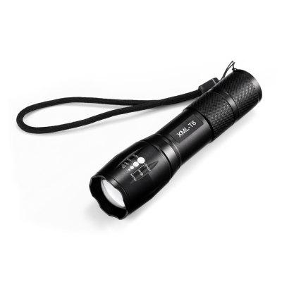 R5 - T6 Ultra Bright Zoomable LED Flashlights 4 Light Modes