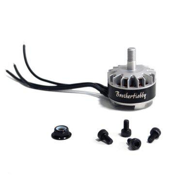 Brotherhobby Tornado T2 2206 Brushless Motor for RC DroneMotor<br>Brotherhobby Tornado T2 2206 Brushless Motor for RC Drone<br><br>Material: Metal<br>Package Contents: 1 x Tornado T2 Motor, 4 x Screw, 1 x Nylon Prop Nut<br>Package Size(L x W x H): 6.00 x 4.00 x 2.00 cm / 2.36 x 1.57 x 0.79 inches<br>Package weight: 0.1000 kg<br>Product Size(L x W x H): 4.00 x 3.00 x 2.00 cm / 1.57 x 1.18 x 0.79 inches<br>Product weight: 0.0300 kg<br>RC Parts &amp; Accs: Motor Components