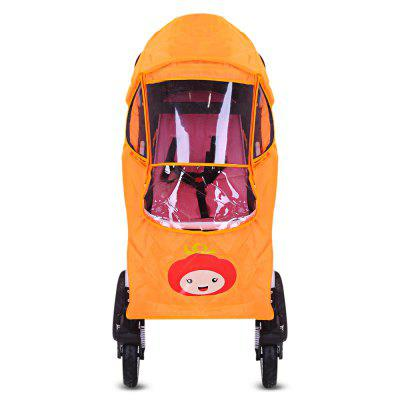 Baby Stroller Windproof Rain Cover Universal Pram AccessoriesBaby Safety<br>Baby Stroller Windproof Rain Cover Universal Pram Accessories<br><br>Item Type: Rain Cover<br>Material: PVC<br>Package Content: 1 x Rain Cover<br>Package size (L x W x H): 40.00 x 30.00 x 5.00 cm / 15.75 x 11.81 x 1.97 inches<br>Package weight: 0.5000 kg<br>Product size (L x W x H): 83.00 x 36.00 x 42.00 cm / 32.68 x 14.17 x 16.54 inches