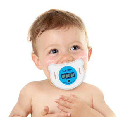 Portable LCD Digital Mouth Pacifier Thermometer