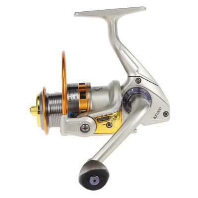 BOYANG KF Series 8BB All-metal Spinning Fishing ReelFishing Reels and Rods<br>BOYANG KF Series 8BB All-metal Spinning Fishing Reel<br><br>Bearing Quantity: 8<br>Fishing Method: Spinning<br>Fishing Reels Type: Fishing Wheel<br>Package Contents: 1 x Fishing Reel<br>Package Size(L x W x H): 13.00 x 12.50 x 8.50 cm / 5.12 x 4.92 x 3.35 inches<br>Package weight: 0.3180 kg<br>Position: Lake,Ocean Beach Fishing,Ocean Boat Fishing,Ocean Rock Fshing<br>Product weight: 0.2470 kg