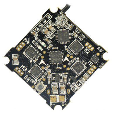 F4 Flight Controller with Frsky Receiver Brushless ESC OSDFlight Controller<br>F4 Flight Controller with Frsky Receiver Brushless ESC OSD<br><br>Material: Composite Material<br>Package Contents: 1 x F4 Flight Controller, 4 x M2 Shock-absorbing Ball, 4 x Screw, 4 x Socket, 1 x Plug Line<br>Package Size(L x W x H): 5.00 x 5.00 x 1.00 cm / 1.97 x 1.97 x 0.39 inches<br>Package weight: 0.0600 kg<br>Product Size(L x W x H): 3.00 x 3.00 x 0.50 cm / 1.18 x 1.18 x 0.2 inches<br>Product weight: 0.0100 kg<br>RC Parts &amp; Accs: Speed Controllers