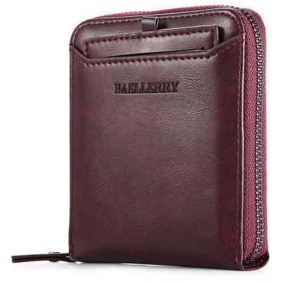 Baellerry Style Men Wallet Soft PU Leisure Folder BagWallets<br>Baellerry Style Men Wallet Soft PU Leisure Folder Bag<br><br>Closure Type: Zipper<br>Height: 12cm<br>Length(CM): 9.5cm<br>Package Contents: 1 x Men Wallet<br>Package size (L x W x H): 17.00 x 14.50 x 8.00 cm / 6.69 x 5.71 x 3.15 inches<br>Package weight: 0.1600 kg<br>Product weight: 0.1400 kg<br>Width: 3cm