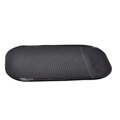 Car Anti-slip Mat Mobile Phone Non-skid Cushion cat eye style silicone non slip mat cushion for vehicles black
