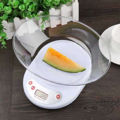 Household Electronic Digital Scale with Bowl 2078 convenient household electronic air pump red