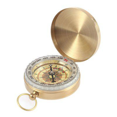 Multifunctional Metal Compass with Cover