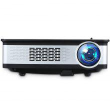 Excelvan Z720 1280*768 Native Resolution 3300 Lumens Z720 Multimedia Projector Support 1080P With HDMI VGA USB*2 AV Interfaces For Home Cinema Game Outdoor Movie