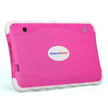 """Excelvan 711 7"""" 1024*600 Android 4.4 Allwinner A33 Duad Core 512MB+8GB Dual Camera WIFI External 3G Tablet PC Red EU"""