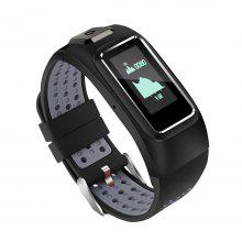 Diggro DB-10 Build-in GPS Tracker Heart Rate Fitness Sport Bracelet IP68 Waterproof 20days Standby Time Four Sport Mode Monitor Health Calling Message Reminder For Android IOS