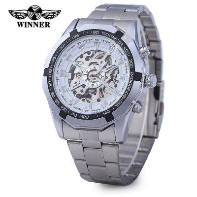 Winner W340 Men Automatic Mechanical Watch