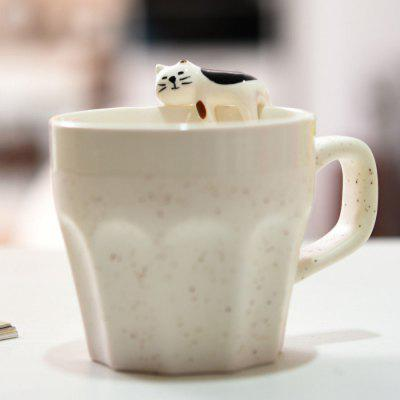 Creative Cat Decors Style Ceramic Mug