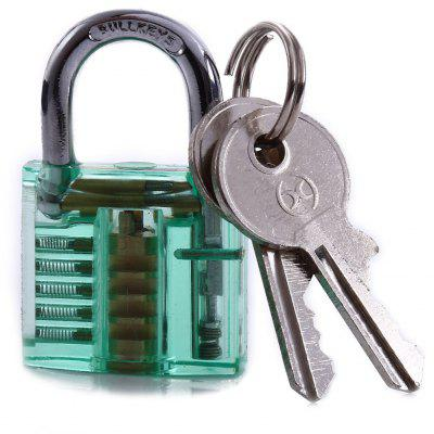 S-54 Mini Transparent Practice Padlock Locksmith Tools