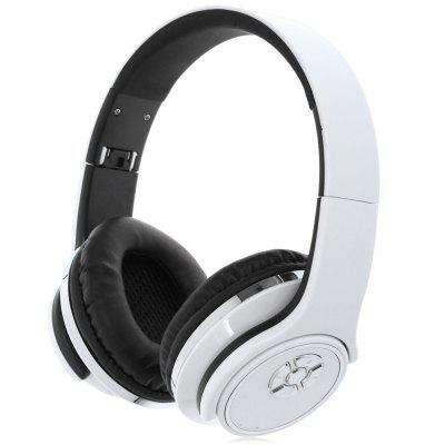 H-666 Bluetooth Wireless Headphones Headband with Mic FM Function