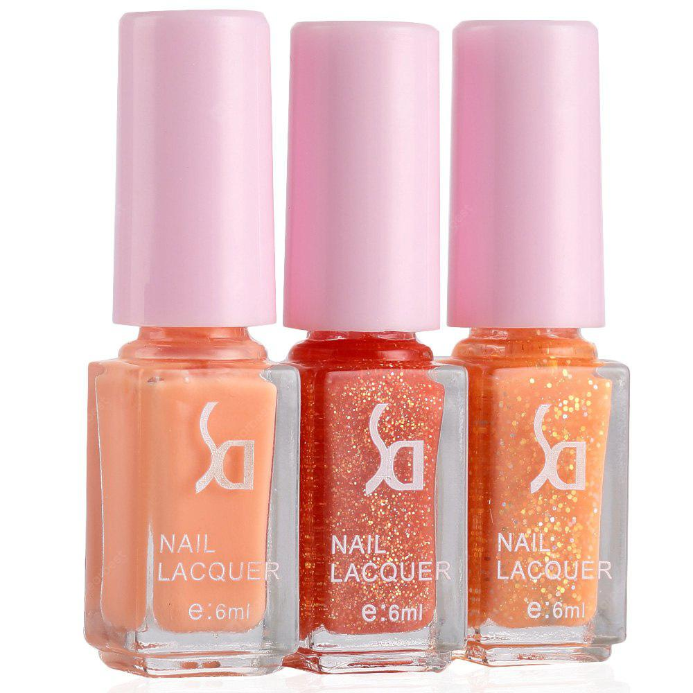 Fashion Magic Candy 3 Colors Gradient Nontoxic Gel Nail Polish Set ...